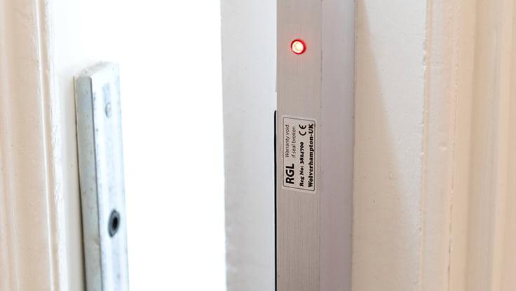door entry sensor