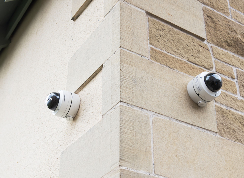 cctv system fitted